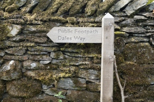Dales Way signpost